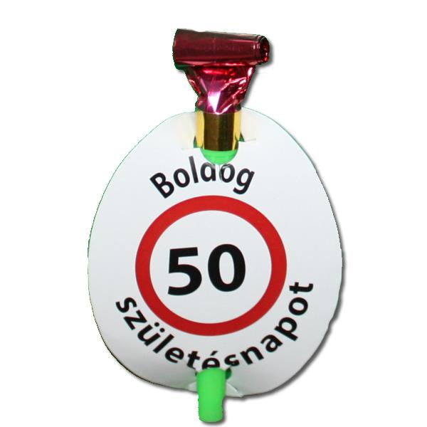 Anyós-nyelv, Boldog 50. születésnapot, 4 db/cs