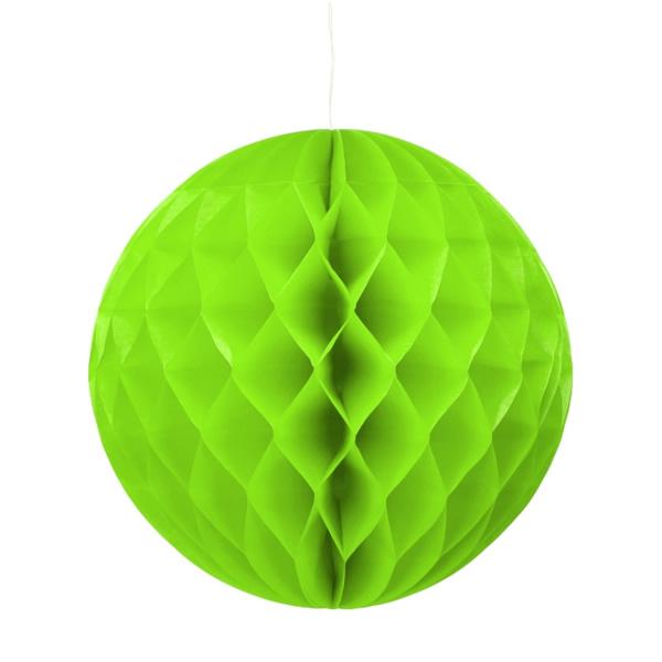 Gömb lampion 30 cm, pisztácia