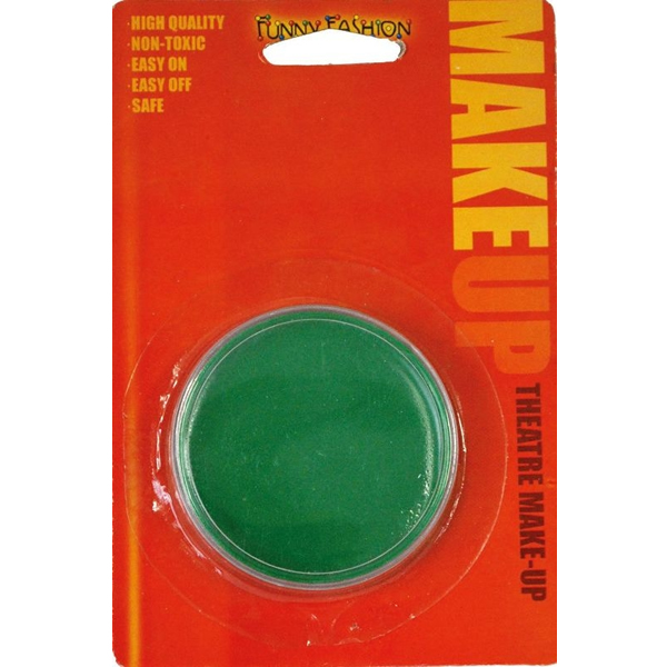 Arcfesték zöld, 34 gramm