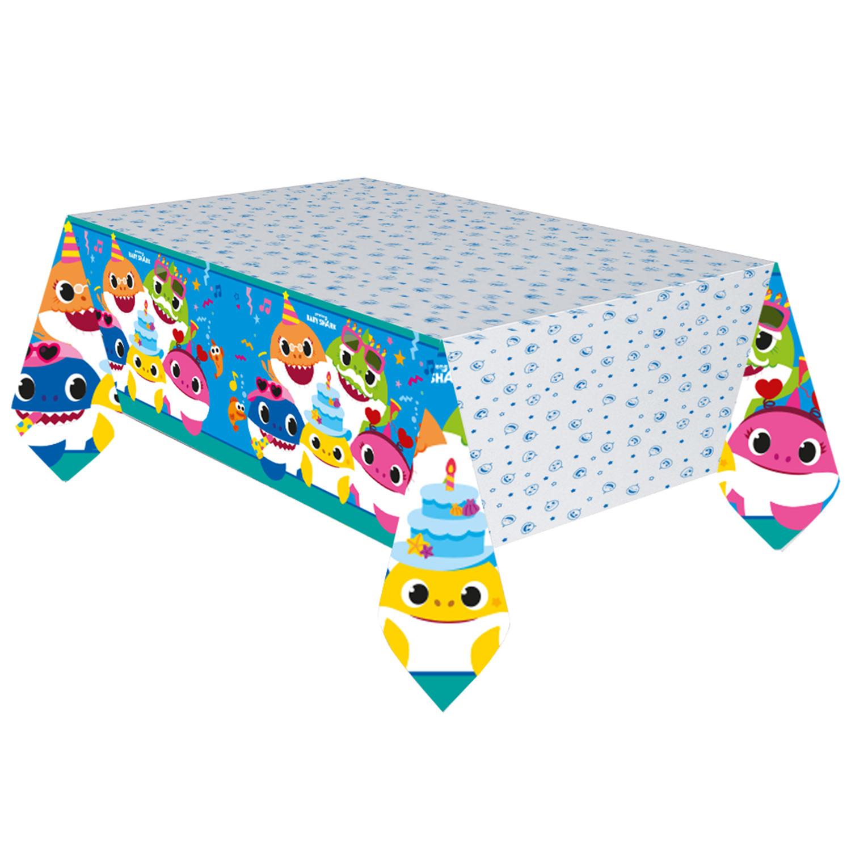 Asztalterítő papír,  Baby Shark, 120x180 cm