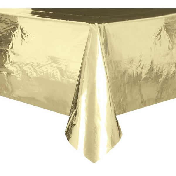 Party asztalterítő, 137*274, arany