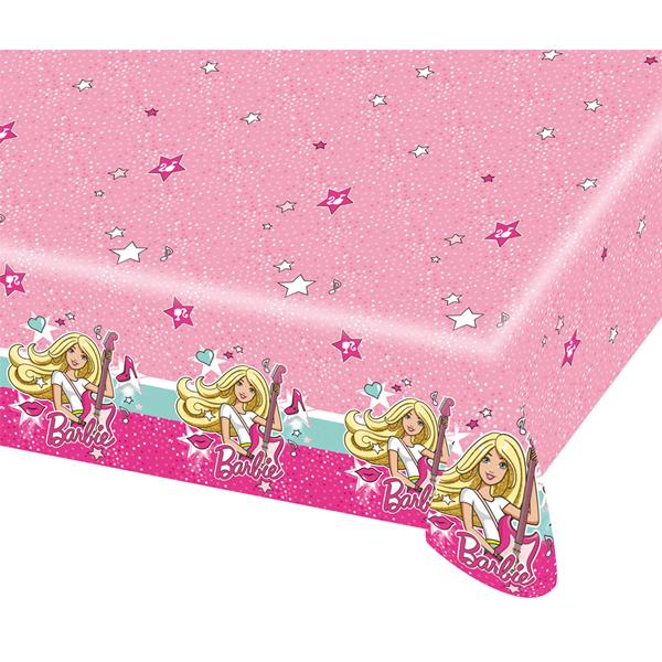 Asztalterítő,  Barbie, 120x180 cm