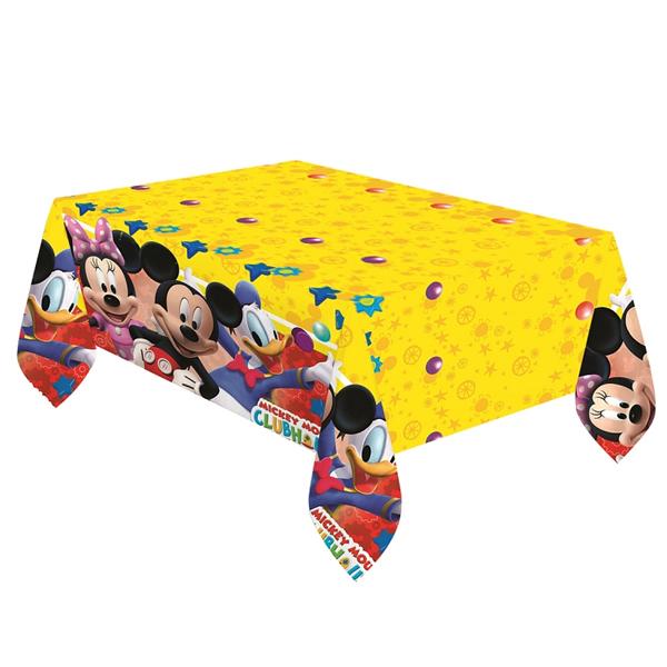 Party asztalterítő, 120*180, Playful Mickey
