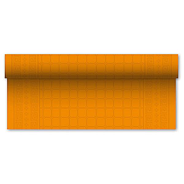 Asztalterítő,  papír, narancs, 7mx1,2m