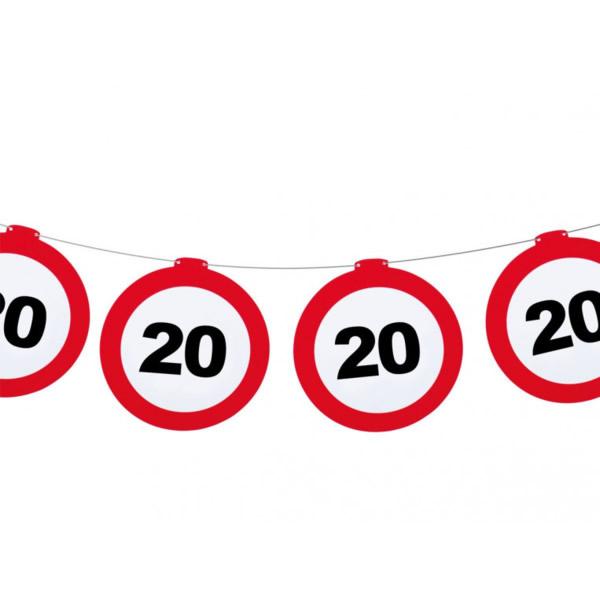 Fűzér, behajtani tilos, 20. születésnapra
