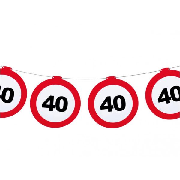 Fűzér, Behajtani tilos 40. születésnapra
