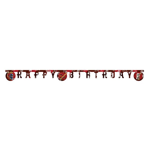 Fűzér, Ninjago, happy birthday, 200cm