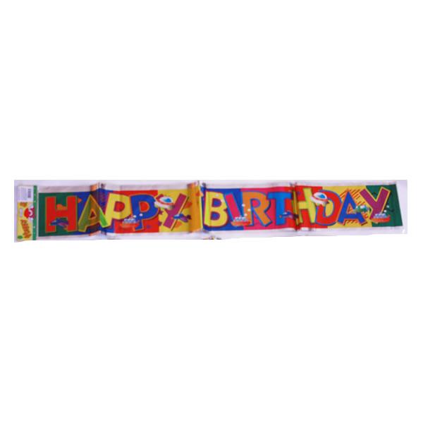 Születésnapi fólia banner