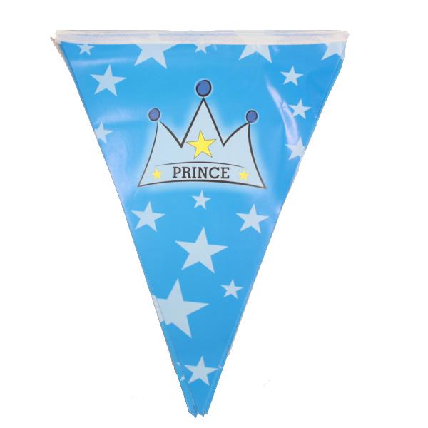 Zászló fűzér, Prince, kék