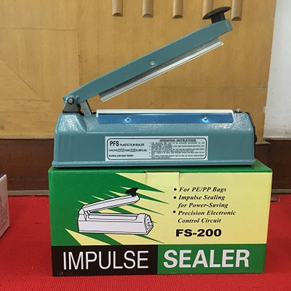 Karos, kézi fóliahegesztő gép, 200 mm