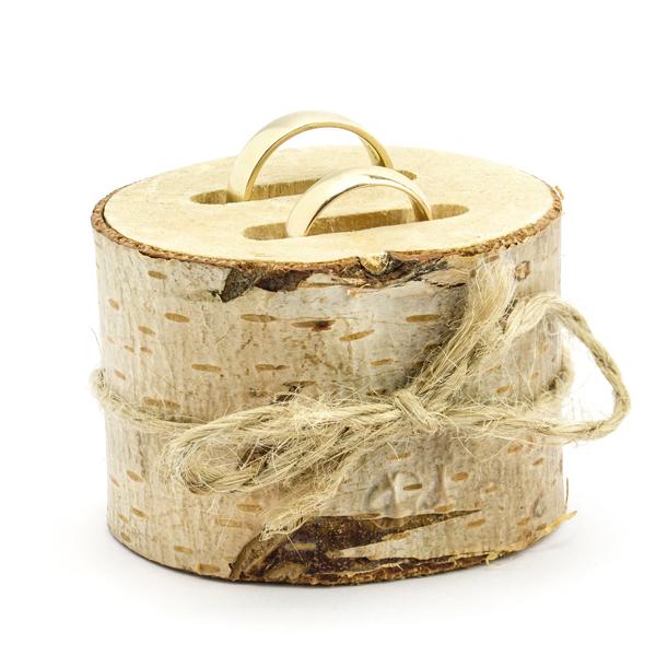 Gyűrűtartó fából, 6cm átmérő