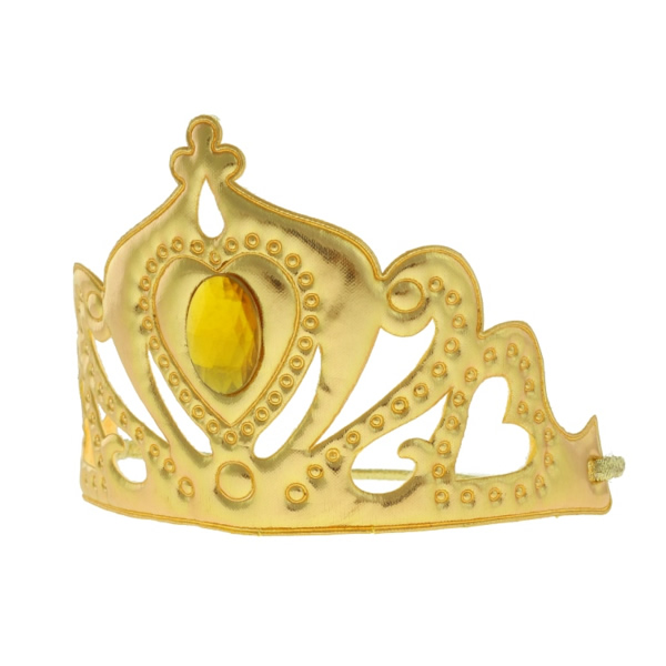 Tiara, szövet, arany