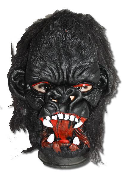 Gorilla, gumi álarc