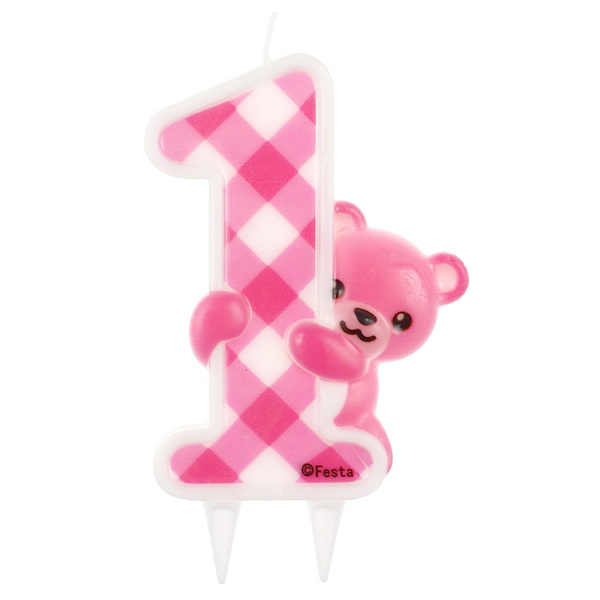 Tortagyertya, 1-es, macis, pink