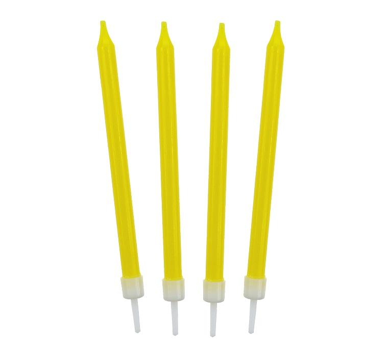 Tortagyertya, sárga, 10 db/cs