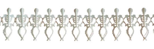 Csontváz girland 3 m