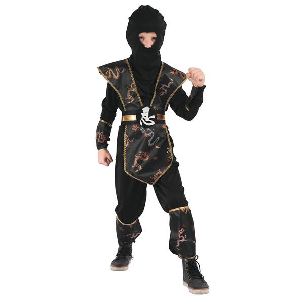 Ninja, dragon, gyermek jelmez, 120/130