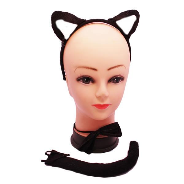 Fekete macska szett 3 db-os