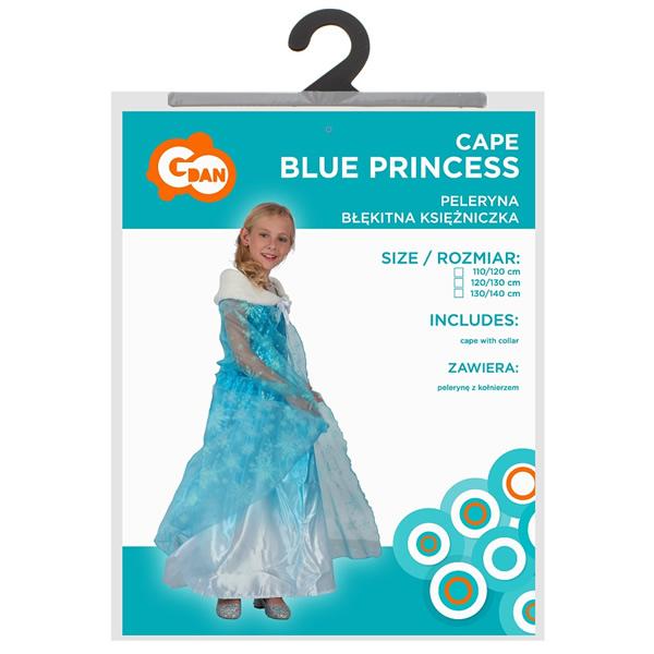 Kék hercegnő köpeny 120/130