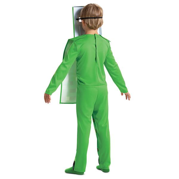 Creeper Fancy szerepjáték-jelmez, Minecraft, M méret, 7-8 éveseknek