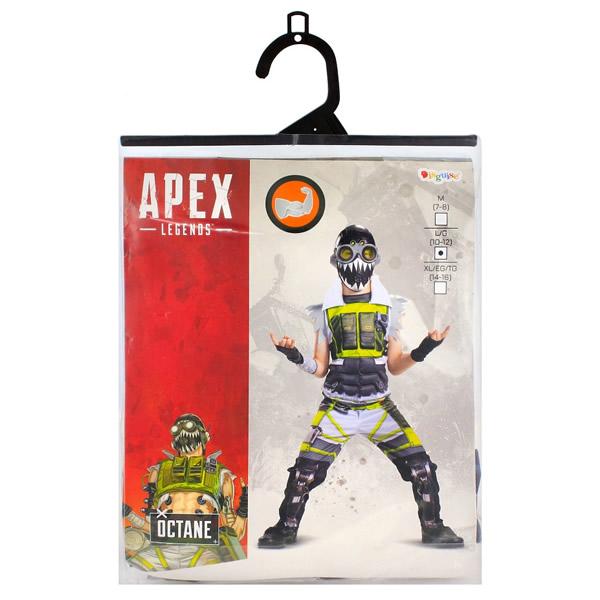 Octane Deluxe jelmez - Apex Legends, L méret, 10-12 éveseknek
