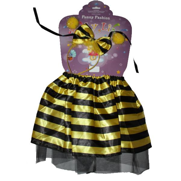 Méhecske szett, fejdísszel