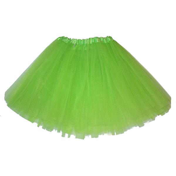 Tüll szoknya, világos zöld