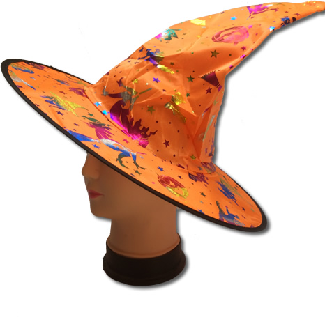 Boszorkány kalap, narancs