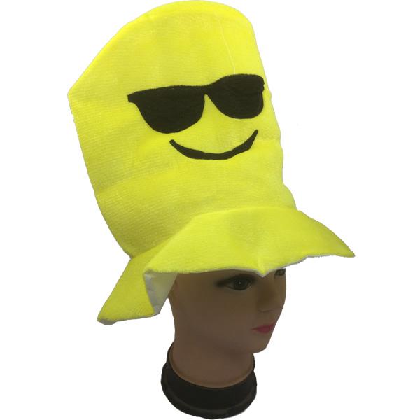 Emoji kalap - napszemüveges