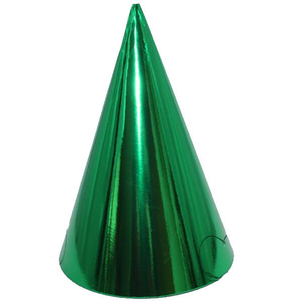 Kicsi kalap, fényes, zöld 6 db/cs