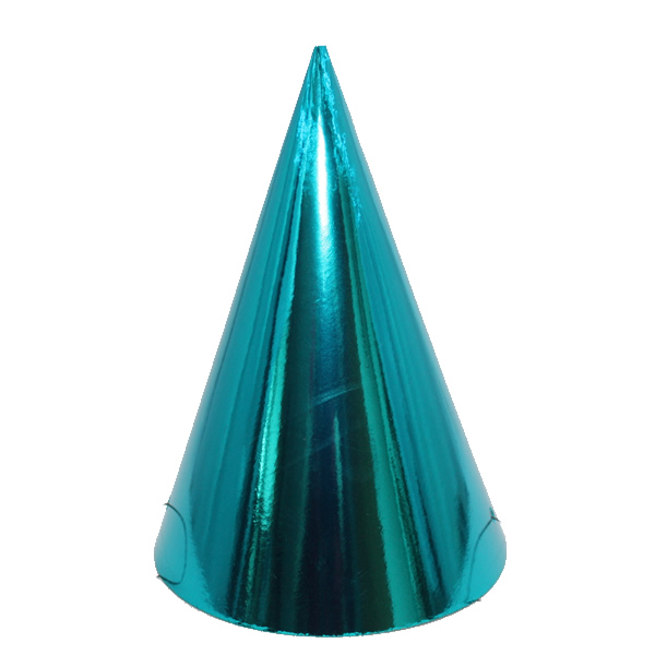 Kicsi kalap, fényes , kék 6 db/cs