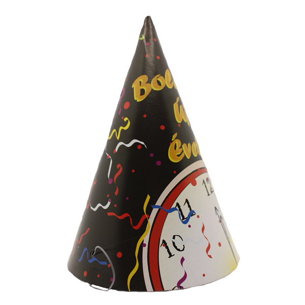 Party csúcsos, órás, BÚÉK kalap 6 db/cs