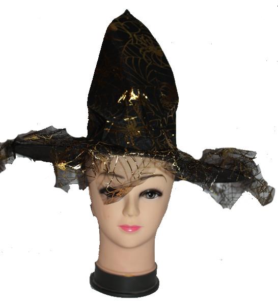 Pókos boszorkány kalap