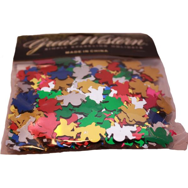 Fényes konfettin, télapó