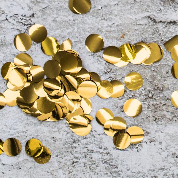 Konfetti, arany, 15gr