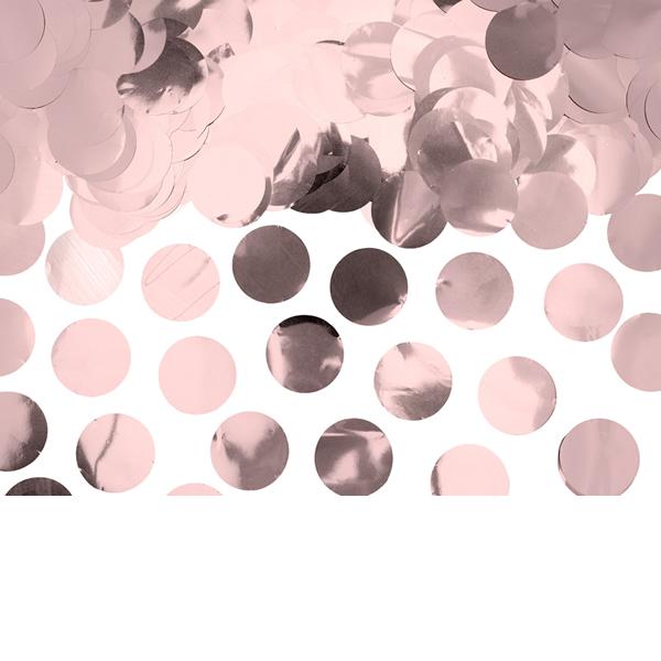 Konfetti, rosegold, 15gr