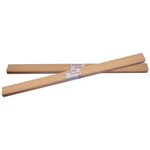 Krepp-papír, barack szín, 50*200