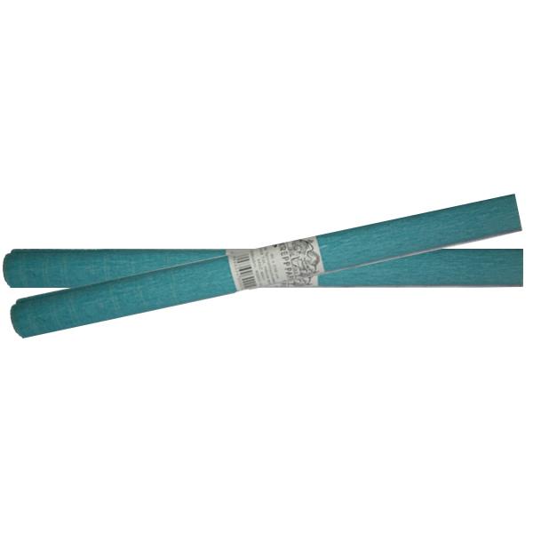 Krepp-papír, kék, 40*250