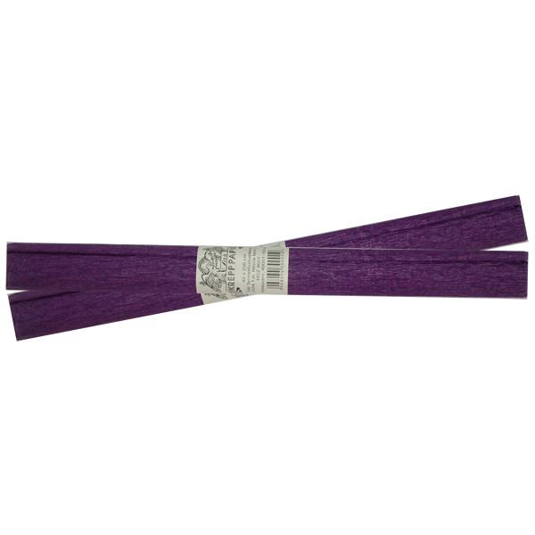Krepp-papír, lila, 40*250