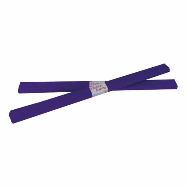 Krepp-papír, sötét lila, 50*200