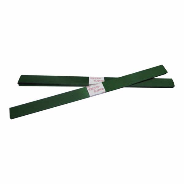 Krepp-papír, sötét zöld, 50*200