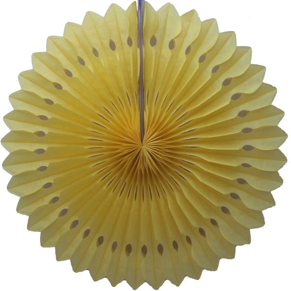 Egyszínű tárcsás lampion 30cm