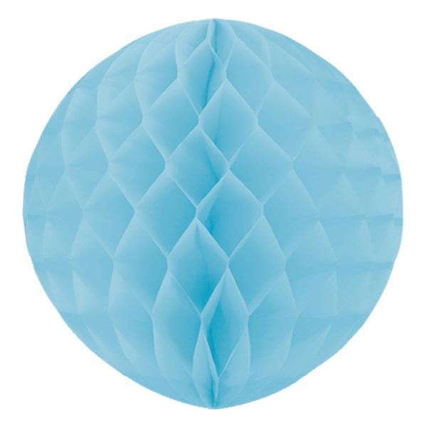 Gömb lampion 30 cm,  ég kék