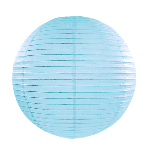 Papír lámpa,  kék, 45 cm