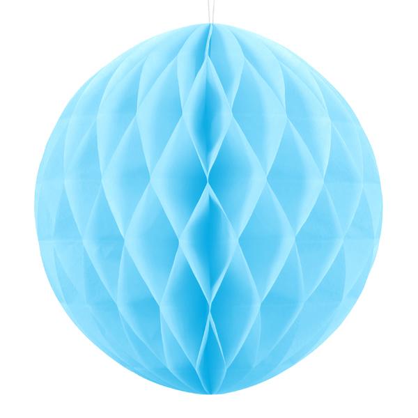 Gömb lampion, ég kék, 30 cm