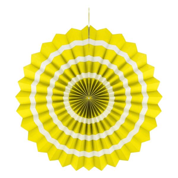 Rozetta lampion, 40 cm, citrom