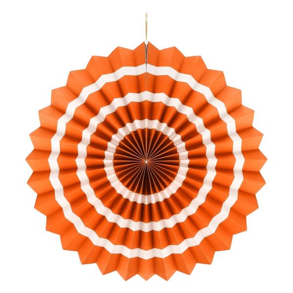 Rozetta lampion, 40 cm, narancs