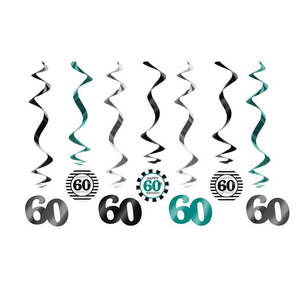 Spirál 60. születésnapra, 7db/csomag