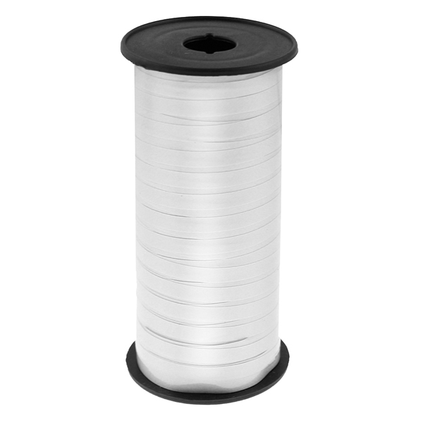 Kötöző szalag, fényes fehér, 92m*5mm