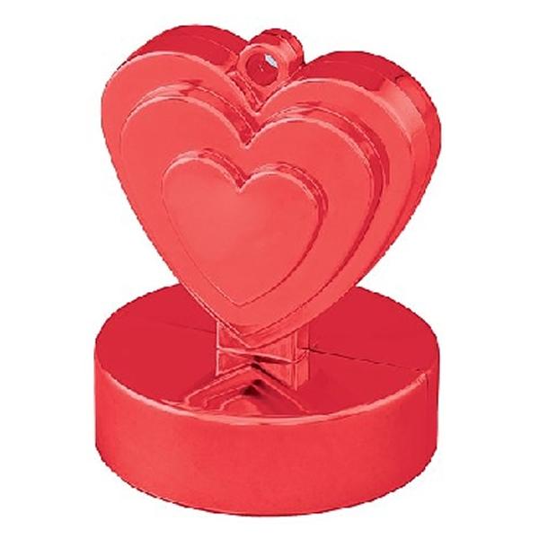 Lufi súly,  szív alakú, Qualatex